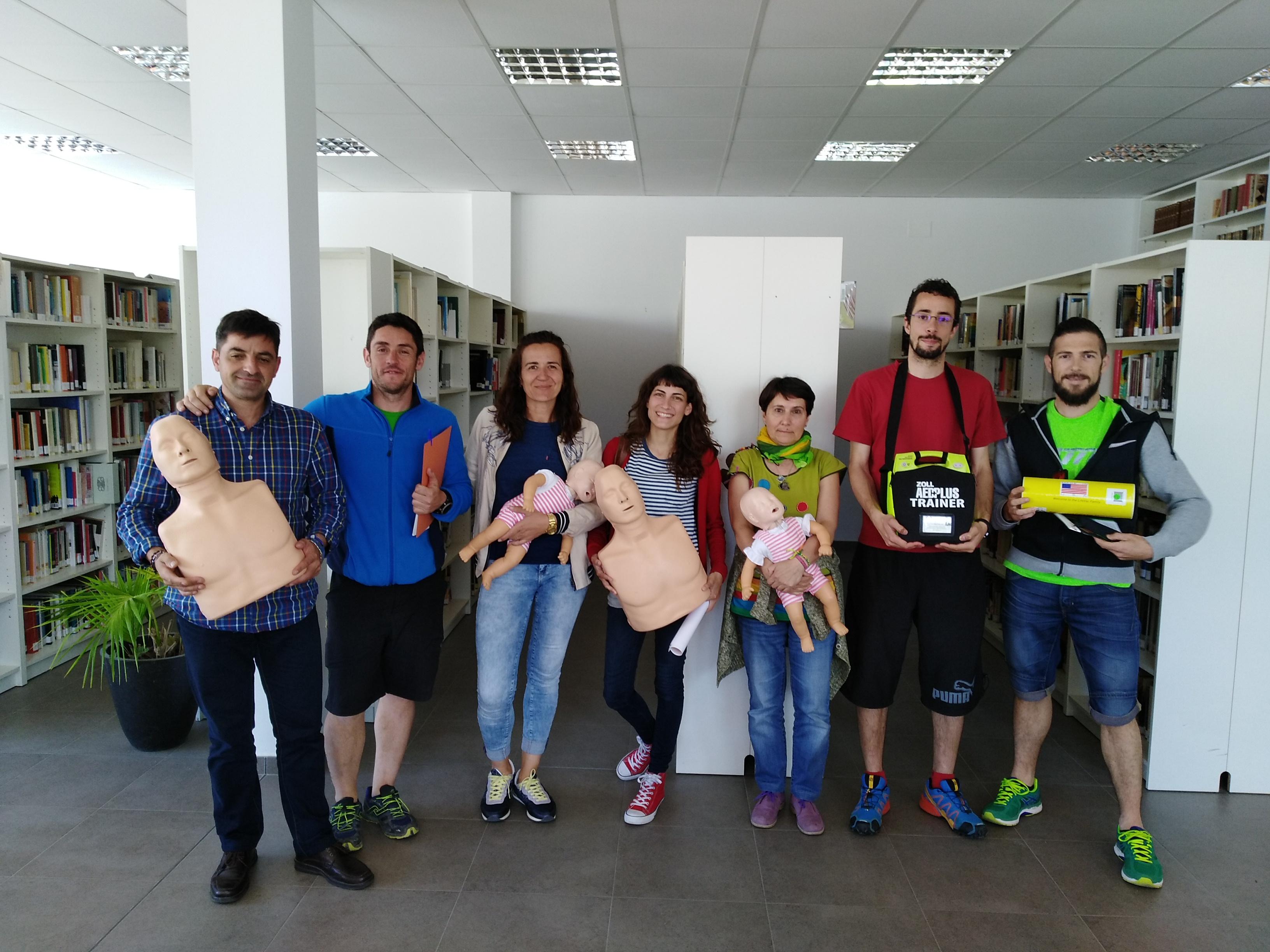 CURSO DE RECICLAJE DE DESA EN AINSA (HUESCA)