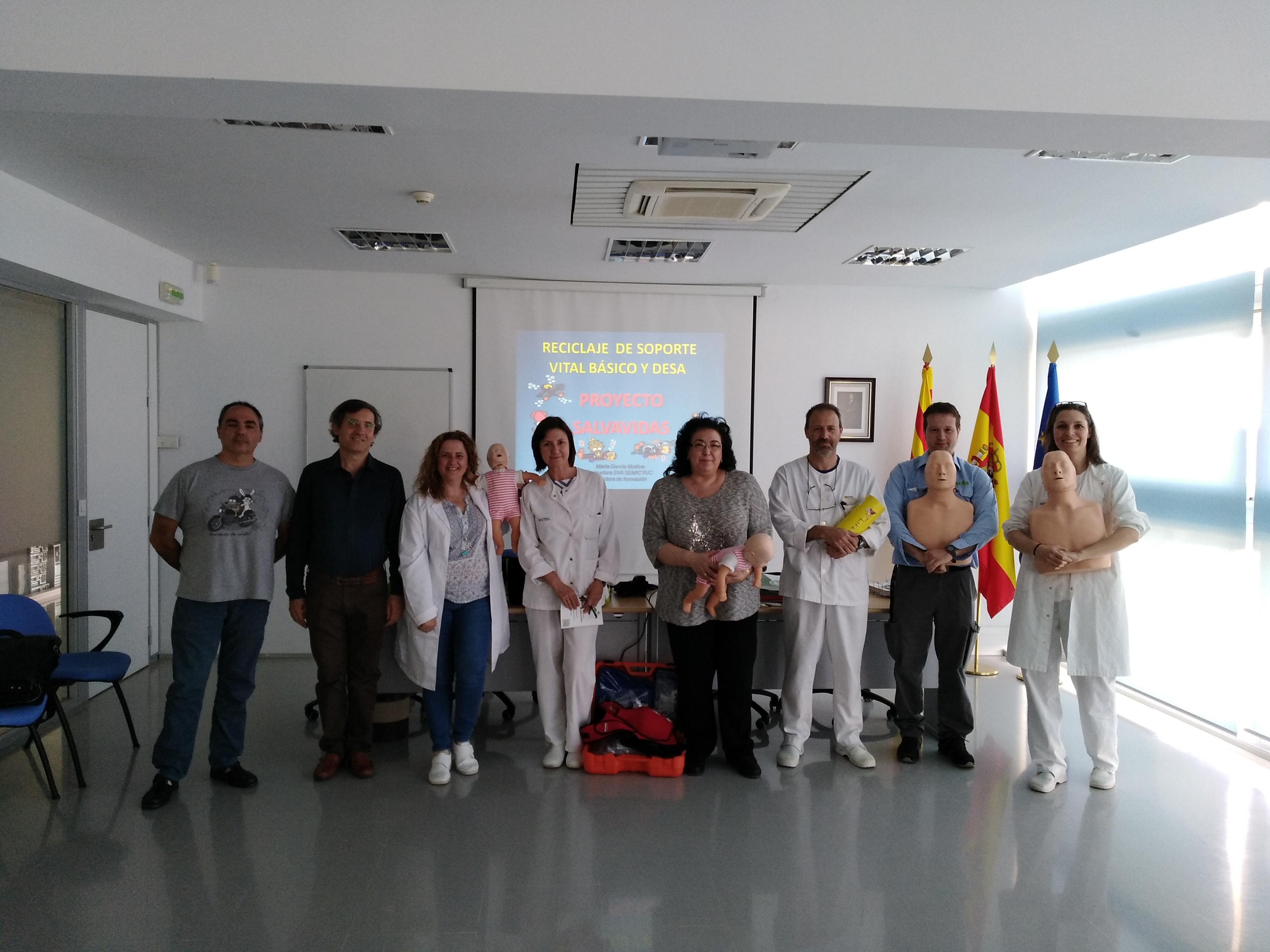 CURSO DE RECICLAJE. CENTRO DE INVESTIGACIÓN AGRO ALIMENTARIA DE ARAGÓN. ZARAGOZA