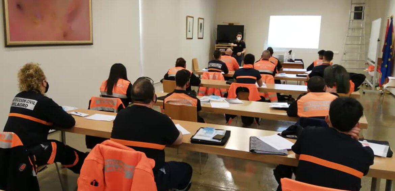 Curso de Primeros Auxilios a voluntarios de la Agrupación de Protección Civil de Milagro ( Navarra)