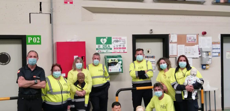 Formación de SVB y DESA a trabajadores/as de la empresa Hannesbrands