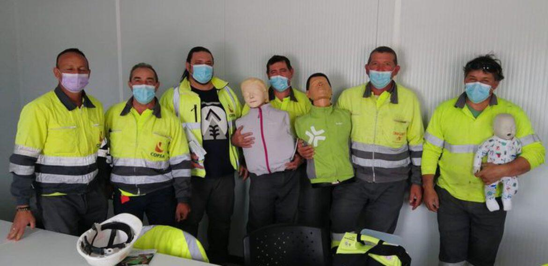 Curso de SVB y DESA a trabajadores de la empresa COPSA
