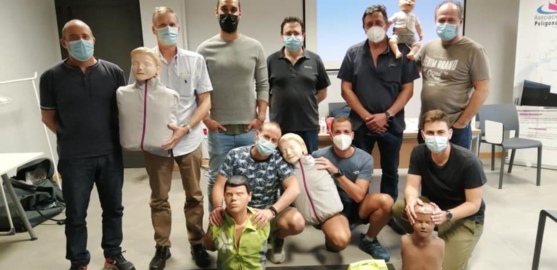 Curso de SVB y DESA a trabajadores de la empresa HEXION CHEMICALS.